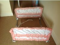 Bed rails for kids - adjustable.