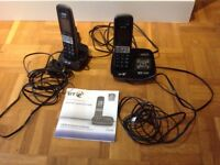 BT PHONE TWO HANDSETS
