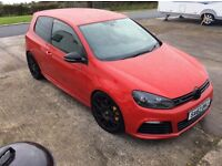 Volkswagen Golf R 2.0 4x4 turbo 3 door 2012 one owner 39000 fsh full year mot mint car may px