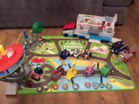 Paw patrol bundle - van, cars, toys, tower, plush etc