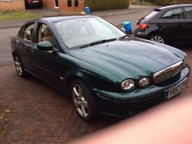 Jaguar X-type 2007 - 57 plate with new clutch and 12 months MOT.