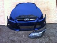 Ford Focus front bumper bonnet n lamp 2011-2012-2013-£140