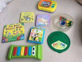 Baby/toddler book & toy bundle