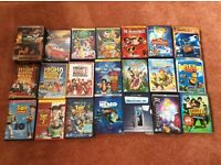 Bundle of Disney DVDs for children