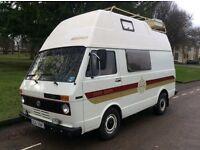 VW LT 28 Westfalia SVEN HEDIN campervan RV camper left hand drive Classic