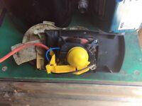 Electric motor 1300watt single phase Bosh motor
