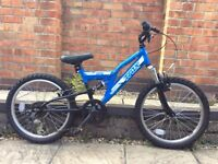 Kids 20 inch wheel bicycle AS NEW