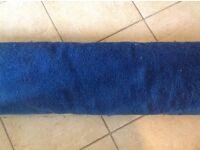 Blue carpet never used
