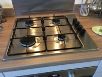 Electrolux Gas Hob. Stainless steel.