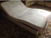 BARGAIN - Adjustamtic Single Bed - Base Only