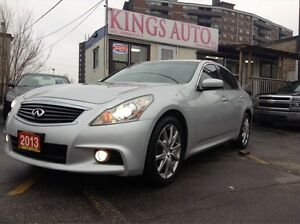 2013 Infiniti G37X  XS Sport AWD, NAVI, BACK-UP CAM, SUNROOF, LE