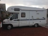 2002 Fiat Autotrail Cheyenne. One owner from new.