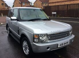 2004 Range Rover Vogue TD6 3L Diesel AUTO(2010 upgrade with private Plate)