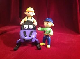 Bob the Builder with Wendy and Zoomer.