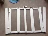 AKW Silverdale 1300 W x 900H Option N Shower Screen - Half Height - Easy Access