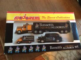 Majorette,the sweet collection ,boxed cars, never been opened