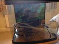 Fish Tank on Cabinet Stand