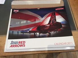 Red Arrows Calender