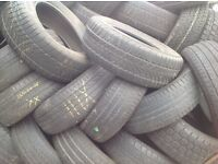 Tyres from £4./ 225/50/16-/225/60/16--£6..wholesale used tyres