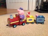 Peppa Pig Grandpas Train
