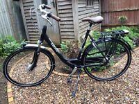 Brand new Dutch Gazelle bicycle Orange C5+ 57cm large frame