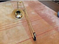 Tenor trombone.