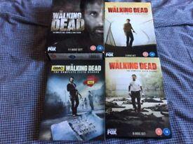 The Walking Dead DVD's Seasons 1 to 6