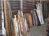 FREE!! Lots of wood - reuseable or for the bonfire. See pic