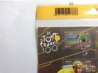 Tour de France centenary stamps