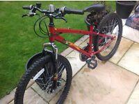 boys bike Apollo crank 24 inch wheels very good condition