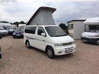 Mazda bongo 2.5 turbo diesel automatic 4 berth camper van