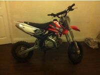 OFFERS LuckyMX 140cc frz racing tuned crosser pitbike needs run in only used once