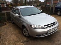Chevrolet lacetti 1.6SX. Mot November only 69000 from new