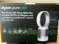 DYSON PURE COOL LINK TABLE TOP PURIFIER FAN plus EXTRA FILTER..NEW..2 YR WARRANTY