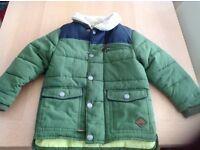 Boys padded Next jacket, age 3