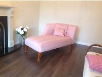 Laura Ashley chaise lounge perfect as new call 07812980350