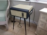 Record player 60's vintage, great working order, complete with legs