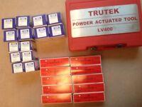 Trutek Powder Actuated Tool. - LV 400 Nail Gun