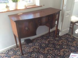 Rosewood sideboard early 1900s