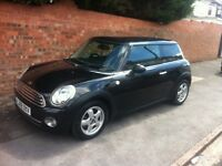 MINI ONE 1.4L, 2009 REG, MOT, LOW MILEAGE, 6 SPEED GEARBOX, NICE SPEC WITH SAT NAV DOCK & AIR CON