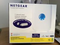Netgear router (WPN824)