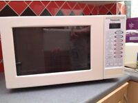 Panasonic microwave and grill oven 800W white