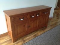 Solid Wood Hall Unit/Cabinet/Sideboard