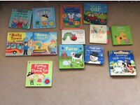 Selection of 13 Ladybird and Usborne books