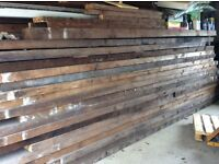 Large amount of wood planks for sale