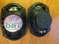 120w stereo speakers (pair)