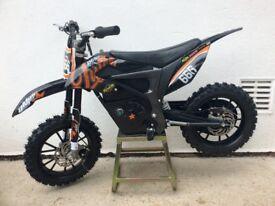 Kids thump battery motocross bike