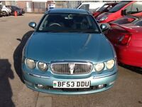 Rover 75 2.0 Cdti club se automatic saloon with 115,000 miles m o t until April 2018