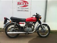 Classic 1974 Honda CB250 Restoration Project last used 2008 .Sensible offers please