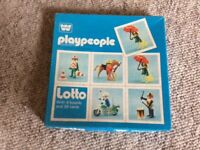 Vintage Play People Lotto game